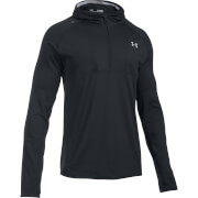Under Armour Men's No Breaks Balaclava Run Hoody - Black