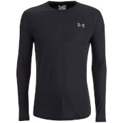 Under Armour Men's Threadborne Fitted Long Sleeve Top - Black/Graphite