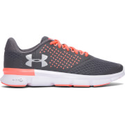 Under Armour Women's Micro G Speed Swift 2 Running Shoes - Rhino Grey/London Orange