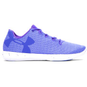 Under Armour Women's Street Prec Low Speckle Trainers - Purple Chic/White