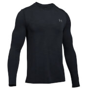 Under Armour Men's Threadborne Seamless Long Sleeve Top - Black