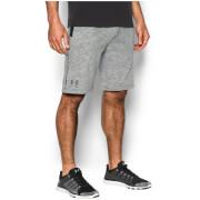 Under Armour Men's Sportstyle Camo Fleece Shorts - Black/Graphite