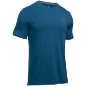 Under Armour Men's Sport Style Left Chest Logo T-Shirt - Blackout Navy/Medium Heather