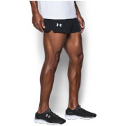 Under Armour Men's Launch Run Split Shorts - Black