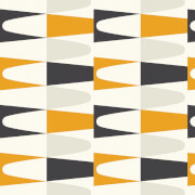 Wayne Hemingway Geometric Carnival Zest Multi Wallpaper