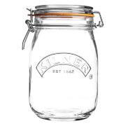 Kilner Clip Top Round Jar 1L