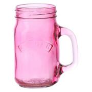 Kilner Handled Jar - Pink 0.4L