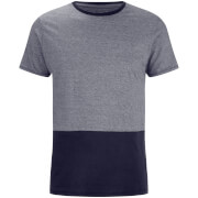 Threadbare Men's Corning Panel T-Shirt - Navy