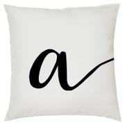 Alphabet Script Cushion (45x45cm)