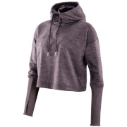 Skins Plus Women's Wireless Tech Fleece Cropped Hoody - Haze/Marle
