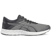 Asics Men's FuzeX Lyte 2 Running Shoes - Black/Silver