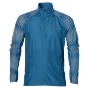 Asics Men's Lite Show Run Jacket - Thunder Blue