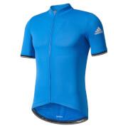 adidas Men's Climachill Short Sleeve Jersey - Blue