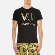 Versace Jeans Men's Vj Logo T-Shirt - Nero