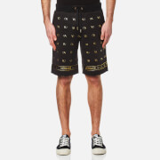Versace Jeans Men's Small Logo Sweat Shorts - Nero
