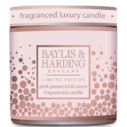 Baylis & Harding Pink Prosecco & Cassis 1 Wick Tin Candle