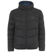 Jack & Jones Originals Landing Gewatteerde Jas - Zwart