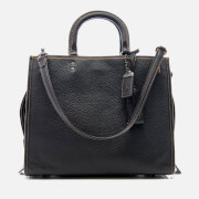 Coach 1941 Women's Glovetanned Pebble Leather Rogue Bag - Black