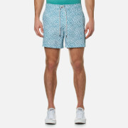 Michael Kors Men's Printed Board Shorts - Rhone Blue