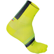 Sportful BodyFit Pro 9 Socks - Yellow/Black