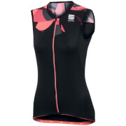 Sportful Women's Primavera Sleeveless Jersey - Black/Pink