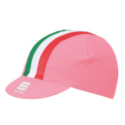 Sportful Italia Cap - Pink Giro/Tricolore