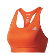 adidas Women's TechFit Medium Support Sports Bra - Energy Red