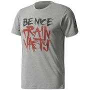adidas Men's Freelift Nasty T-Shirt - Core Heather