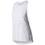 adidas Women's Aeroknit Boxy Tank Top - White