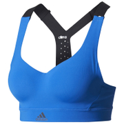 adidas Women's Climachill High Support Sports Bra - Blue