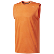 adidas Men's Supernova Sleeveless Running T-Shirt - Energy Orange