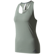 adidas Women's Climachill Tank Top - Trace Green