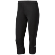 adidas Women's TechFit Capri Tights - Black