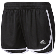 adidas Women's 100 D Woven Shorts - Black/White