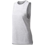 adidas Women's Boxy Melange Tank Top - White