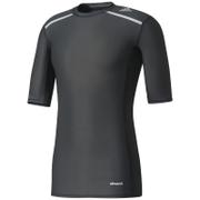 adidas Men's TechFit Climachill T-Shirt - Black