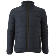 Brave Soul Men's Moritz Padded Jacket - Navy