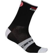 Castelli Rosso Corsa 13 Socks - Black