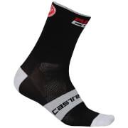 Castelli Rosso Corsa 9 Socks - Black