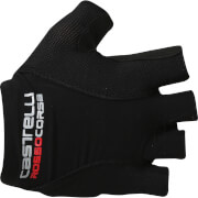 Castelli Rosso Corsa Pave Gloves - Black