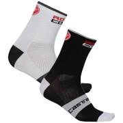 Castelli Rossocorsa 6 Socks