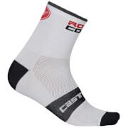Castelli Rosso Corsa 9 Socks - White