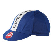 Castelli Retro 3 Cycling Cap - Pale Blue/Midnight Navy - One Size