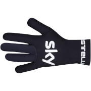 Team Sky Diluvio Neoprene Gloves - Black