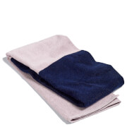 HAY Compose Bath Towel - Navy Blue