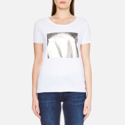 BOSS Orange Women's Printed T-Shirt - White