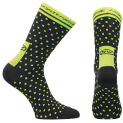 Northwave Mind Field Socks - Black/Yellow