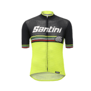 Santini Beat Jersey - Yellow