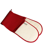 Le Creuset Double Oven Gloves - Red