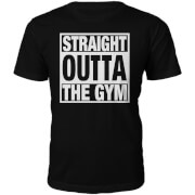 Männer Straight Outta The Gym T-Shirt - Schwarz